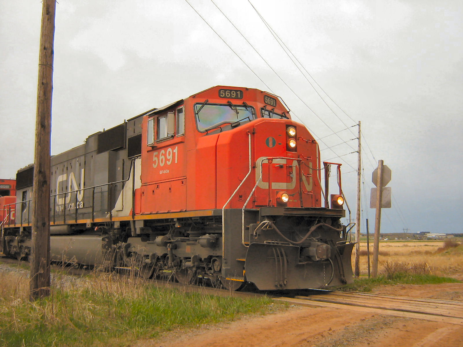 CN Freight Train