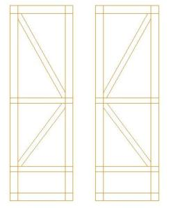 """1/4"""" scale panel for ironwork"""