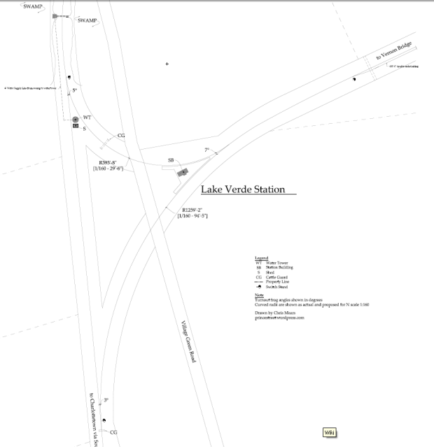 Lake Verde Station not to scale for web