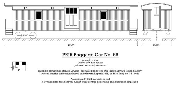 baggage car 56