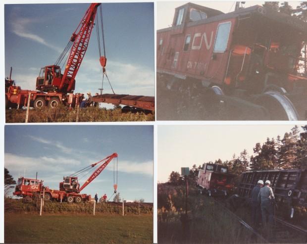 North Wiltshire derailment August 1989