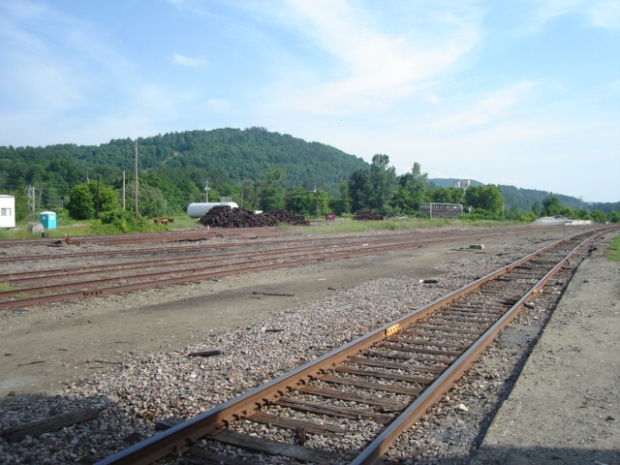 St. Johnsbury, Vermont - Washington County Railroad - July 2014