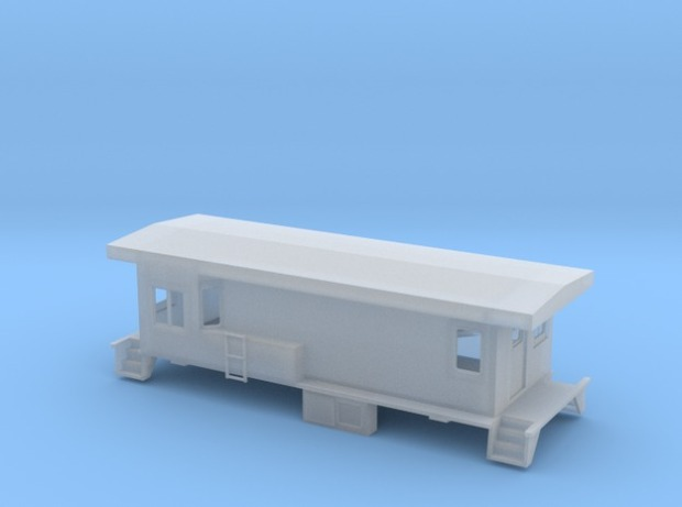 Shapeways rendering shows the current state of the car - click on the link to see it the latest version on Shapeways
