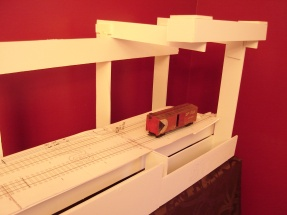 mockup with lionel boxcar 20170311
